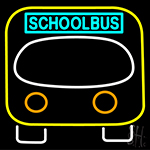 School Bus LED Neon Sign
