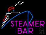 Steamer Bar Boat Neon Sign