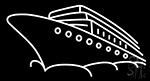 White Cruises Neon Sign