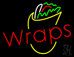 Wraps With Logo Neon Sign