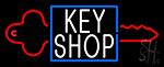 Key Shop 1 Neon Sign