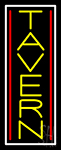 Double Stroke Vertical Tavern Neon Sign