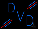 Blue Dvd Neon Sign