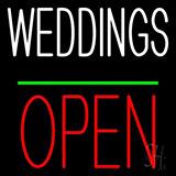 Wedding Open Neon Signs