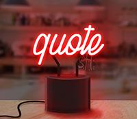 Custom Neon Lamp