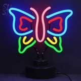 Butterfly Neon Sculpture
