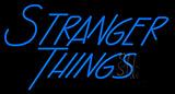 Blue Stranger Things Neon Sign