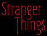 Red Stranger Things Neon Sign