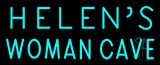 Helens Woman Cave Neon Sign