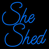 She Shed Neon Sign