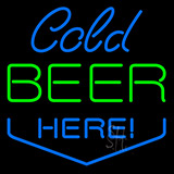 Code Beer Here Neon Sign