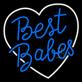 Best Babes LED Neon Sign