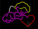 Cupid Neon Sign
