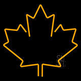 Maple Leaf Neon Sign