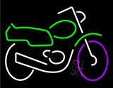 Motorcycle Neon Sign