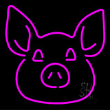 Pig Face LED Neon Sign