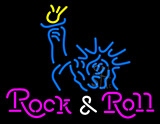 Statue Of Liberty Rock Roll Neon Sign Neon Sign