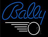 Bally Neon Sign