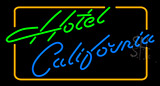 Hotel Califonia Neon Sign
