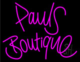 Pauls Boutique Neon Sign
