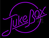 Purple Jukebox Neon Sign