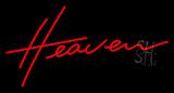 Heaven Neon Sign