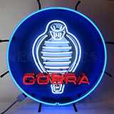 Ford Cobra Neon Sign With Backing