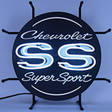 Chevrolet Ss Super Sport Junior Neon Sign