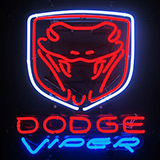 Dodge Viper Neon Sign