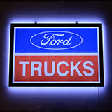Slim LED Ford Trucks Slim LED Sign