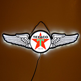 Slim LED Texaco Wings Slim LED Sign