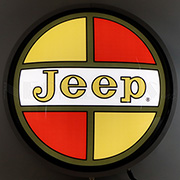 Jeep Retro 15 inches Backlit Led Lighted Sign