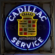 Cadillac Neon Sign In 36 inches Steel Can