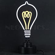 Light Bulb Neon Sculpture
