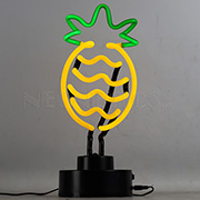 Pineapple Neon Sculpture