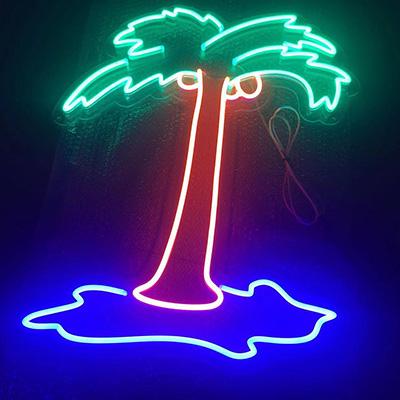 Contoured Backing Neon Flex Sign