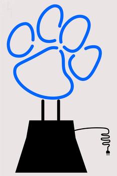 Custom Paw Neon Sculpture Neon Sign 1