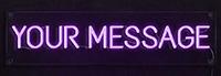 Custom Letter Neon Flex Sign