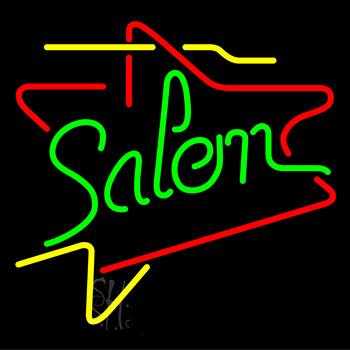 Salem Triangles Neon Sign