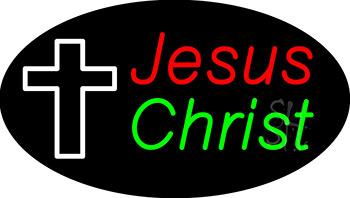 Jesus Christ Neon Sign