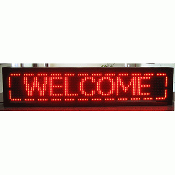 """EPL-P121696R Programmable LED Sign - 11""""H x 49""""L"""