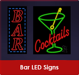 Bar LED Signs