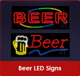 Beer LED Signs
