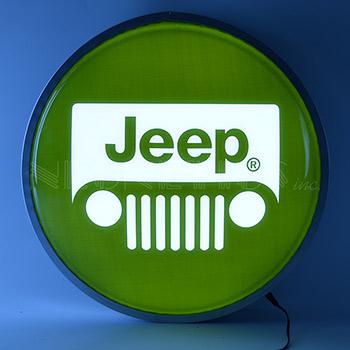 Jeep 15 Inch Backlit Led Lighted Sign