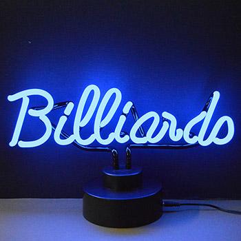 Billiards Neon Sculpture