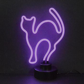 Cat Neon Sculpture