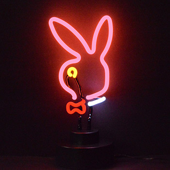 Bunny Head Neon Sculpture