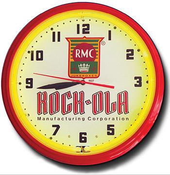Rock-Ola 20 Inch Neon Clock