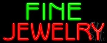 Fine Jewelry Neon Sign