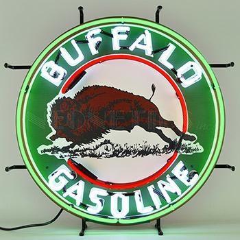 Gas - Buffalo Gasoline Neon Sign